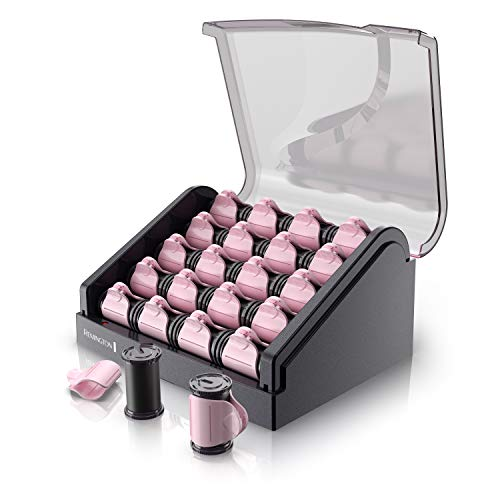 Remington H9000 Pearl Ceramic Heated Clip Hair Rollers, 1-1 ¼ Inch, Pink reviews