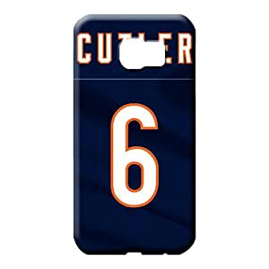 samsung galaxy s6 cover Shock Absorbent High Quality phone case cell phone skins chicago bears nfl football