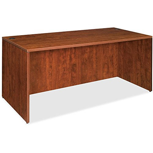 Lorell Desk Shell, 72 by 36 by 29-1/2-Inch, Cherry