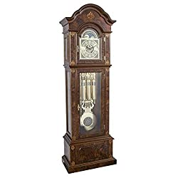 Hermle German GABRIELLA Mechanical Grandfather Clock By 01244031171, Triple Chimes