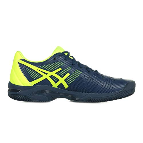 3 Gel solution Clay Speed Chaussures JAUNE NOIR Asics I6Rxw