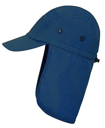 Men Women Fishing Hat With Ear Neck Flap Cover Sun Protective Safari Hat, (Shield Cap)