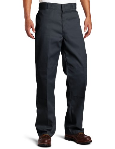 Dickies Men's Big-Tall Loose Fit Double Knee Work Pant, Charcoal, 52X30 -