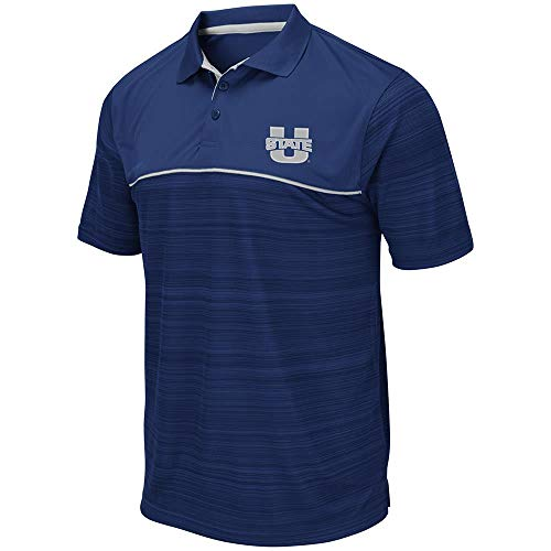 Mens Utah State Aggies Levuka Polo Shirt - L