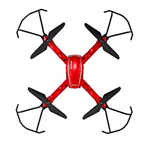 GoolRC T5W PRO FPV Drone Foldable with Wifi Camera Live Video 2.4G 4CH 6 Axis Headless Mode & One Key Return & 3D Flips RC Quadcopter from GoolRC