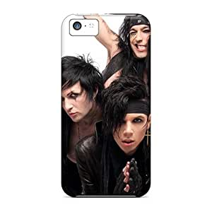 Iphone 5c PQw12787muqi Allow Personal Design Beautiful Black Veil Brides Band BVB Pictures Scratch Protection Hard Phone Case -DannyLCHEUNG