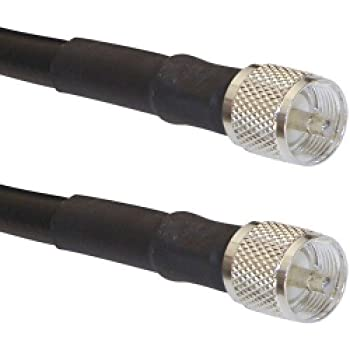 Times Microwave LMR-400 PL259 Coaxial Cable (10 Feet)