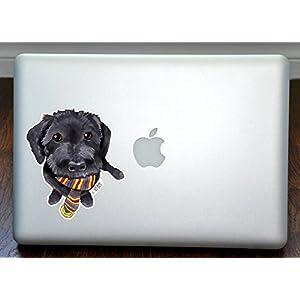"Yorkipoo Yorkie Poo Art Full Color Decal for 13"" Macbook 1"