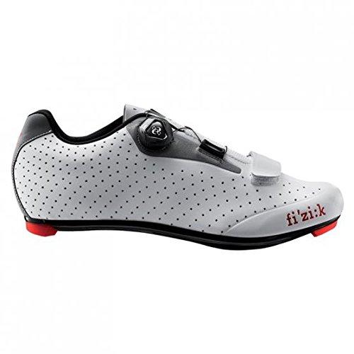 Fi'zi:k R5B Uomo Boa Shoe Men's White/Light Gray, 41.0