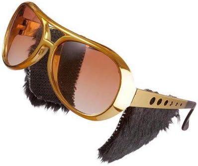 Elvis Stile Occhiali D/'Oro Accessorio
