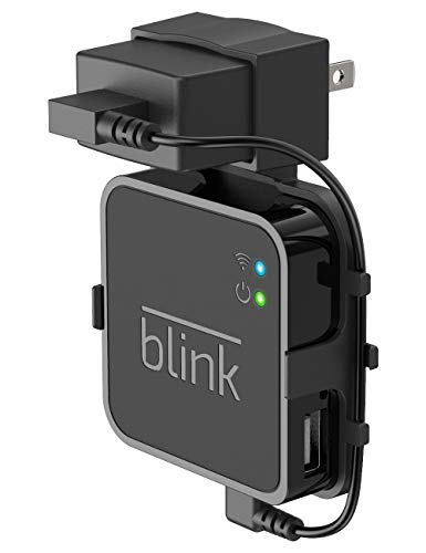 Aobelieve Outlet Wall Mount for Blink Sync Module, Simple Mounting Bracket Holder for Blink XT Outdoor and Indoor Security Camera Black or White WiFi Hub, No Messy Wires or Screws, Black -