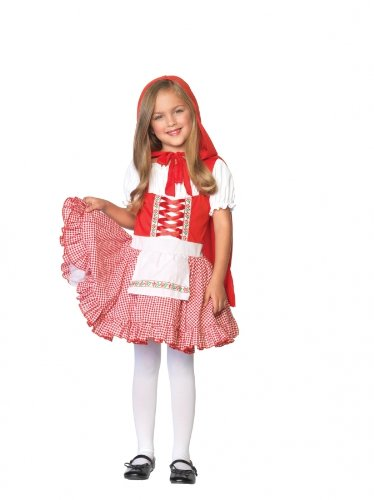 Girls Lil Miss Red Riding Hood Costumes - Lil Miss Red Costume -