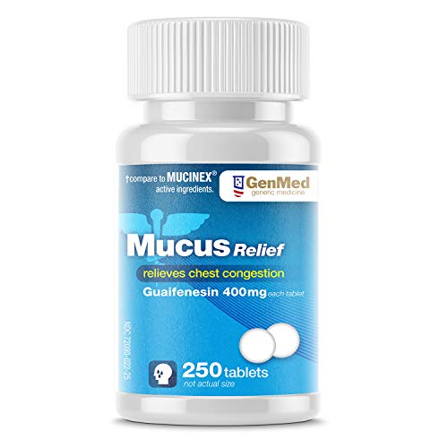 Genmed Mucus Relief, 250 Count