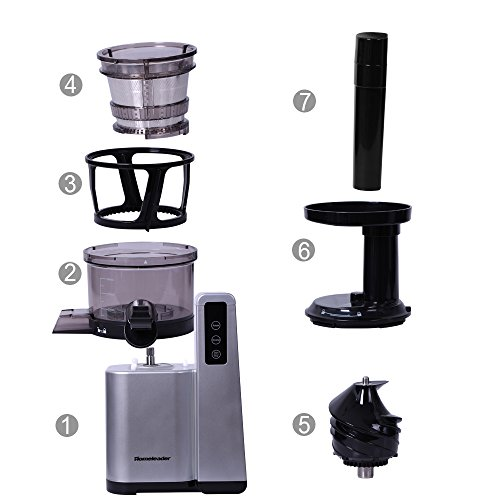 Homeleader Slow Masticating Juicer, Juice Extractor,120W, - Import It All