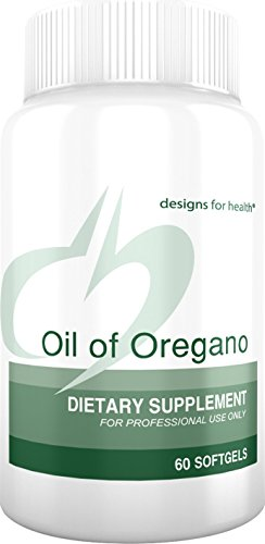 Designs for Health Oil of Oregano Softgels - 60 Milligrams High Carvacrol (60 Softgels) ()