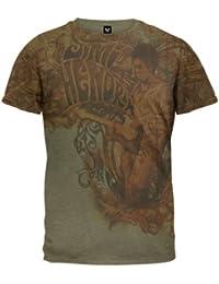 Jimi Hendrix - Scrollwork Jam Soft T-Shirt