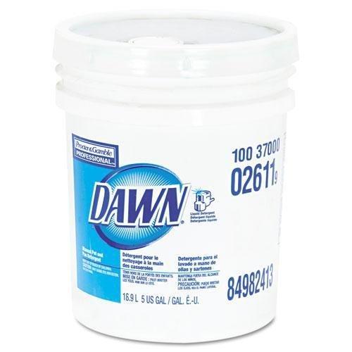 DAWN 2611 Dishwashing Liquid, Original Scent, 5gal (Dishwashing Liquid 5 Gallon Pail)
