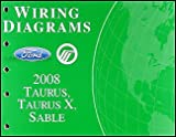 2008 Ford Taurus, Taurus X, Sable Wiring Diagrams Manual Original
