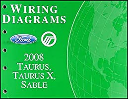 2008 ford taurus taurus x sable wiring diagrams manual original rh amazon com