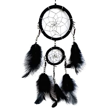 Handmade Dream Catcher with Feathers Hanging Deor Ornament (With Betterdecor Gift Bag)-2CBL