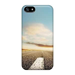 AnnetteL Fashion Protective Horizon Roads Case For Ipod Touch 4 Cover