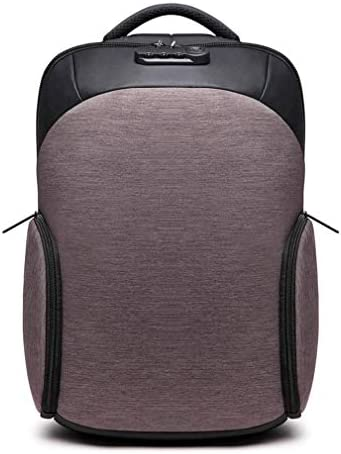 BAJIMI ハイキングバックパック、学生のバックパック、旅行ノートパソコンのバックパック、ビジネスアンチセフトトラベルコンピュータバッグ女性と男性、大学のスクールバックパックUSBポートと、ライトコーヒーを充電