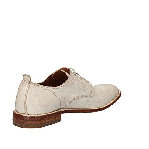 Moma Chaussures Blanc Élégantes Femme Cuir BUBAr7Xq