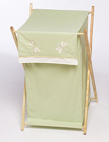 Dragonfly Dreams Window Panels (Sweet Jojo Designs Baby and Kids Clothes Laundry Hamper - Green Dragonfly Dreams)