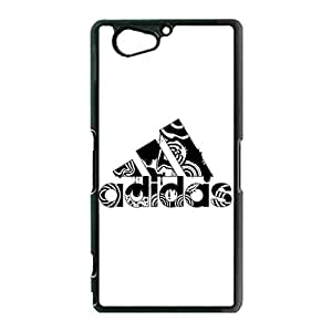 Simple Creative Adidas Logo Cover Phone Case Fine Protective Cover Case for Sony Xperia Z2 Mini Adidas Series