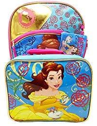 3-Piece Disney Beauty & the Beast Belle Backpack Standard Disney Beauty And The Beast Belle