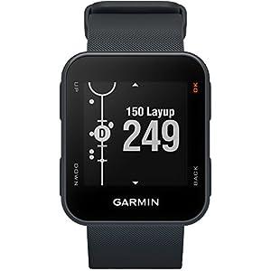 Garmin Approach S10 Golf GPS Watch, Granite Blue + 1 Custom Ball Marker Clip Set (American Eagle)