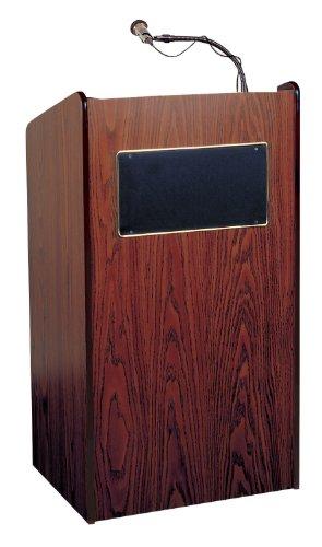 Oklahoma Sound 6010-MY Aristocrat Floor Sound Lectern, 25