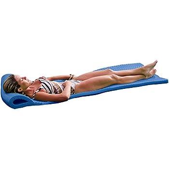 Amazon Com Robelle Premium Foam Pool Float Blue Toys