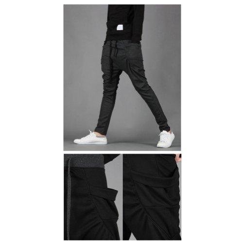 ABS-GMX Men's Sport Cotton Pants Harem Pants Korean Style Trousers Sweatpants