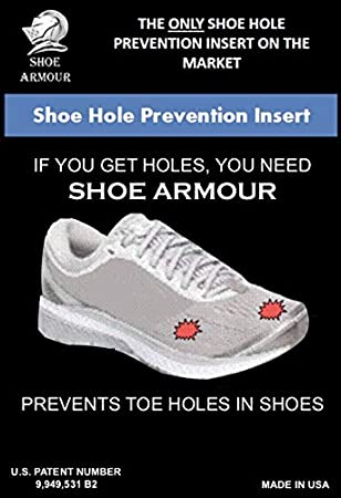 Shoe Armour Shoe Hole Prevention