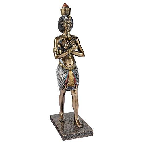 Design Toscano Akhenaten Amenhotep IV King of Egypt Statue