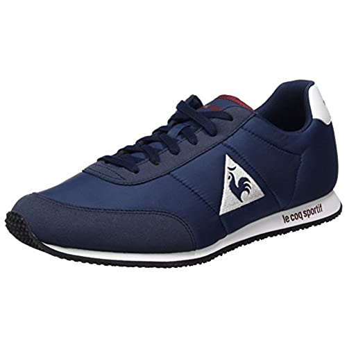 Le COQ Sportif Dynacomf Open, Zapatillas Unisex Adulto, Negro (Black/Optical White), 40 EU