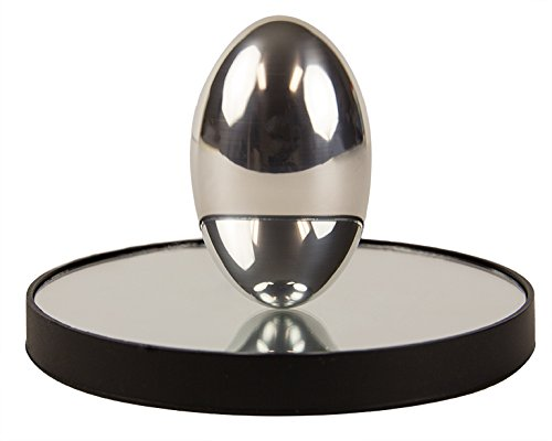 PhiTOP Physics Egg for Science Geeks Stress Relieving Ellipsoid Spinning Top Physics Marvel and Optics Art