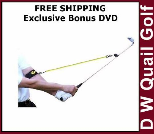 Perfect Release Golf Training Aid - You Will Also Receive An Exclusive Free Bonus DVD From the Golf Lessons With O'Leary Series With Your Order