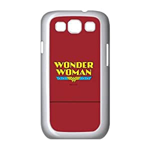 Samsung Galaxy S3 I9300 2D Customized Hard Back Durable Phone Case with Wonder Woman Image