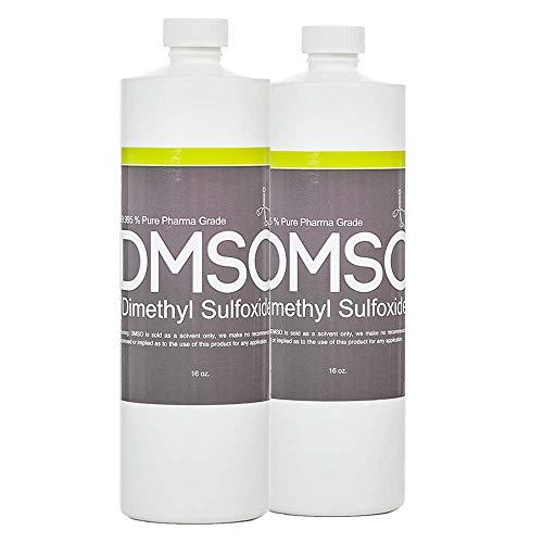 DMSO Dimethyl Sulfoxide Buy 1 Get 1 Free 16 oz Low Odor 99.995% Pure Pharma Grade, in BPA Free Container