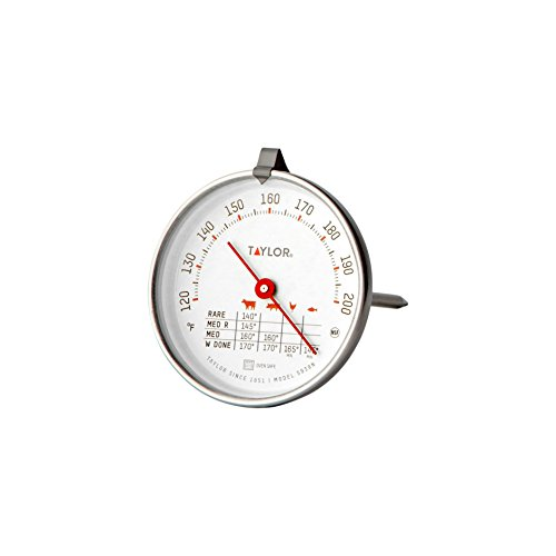 Taylor Precision Products Classic Style Meat Dial Thermometer (Scale Taylor Professional)