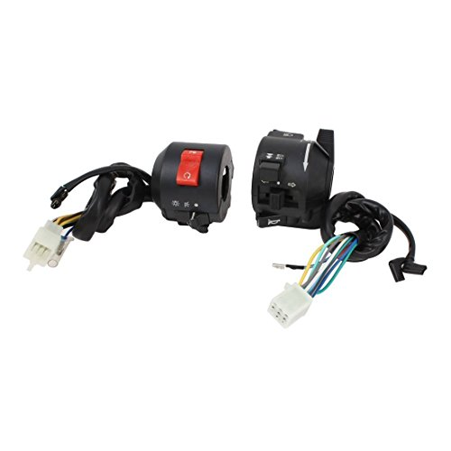 BARGAIN HOUSE Motorcycle Switch Accessories Headlight Control Switch Combined Switch Bike Motorcycle Handlebar Honda Signal Conversion Head Light Pair