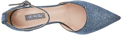 Caviglia Cinturino alla Jersey by Blue Parker Jessica Donna SJP Blu Quest con Sarah Scarpe 0Ffw8xwzq