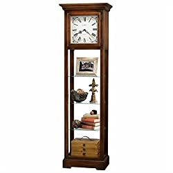 Bowery Hill Curio Display Cabinet Clock