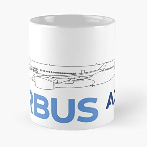 (Airbus A330 Coffee Mugs Best Gift, Funny Cup )