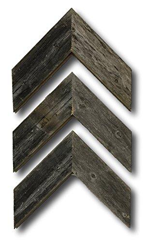 Barnwood Rustic Chevron Decorative Arrow Set of 3 Made by Ba