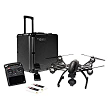 YUNEEC Q500 4K Typhoon Quadcopter with CGO3 Camera, SteadyGrip, and Camera Aluminum Case (RTF)