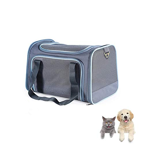 FASTINGDOG Airline Approved Soft-Sided Pet Travel Carrier.Small Dog Carrier.cat Carriers,Pet Portable Carrier for Small…