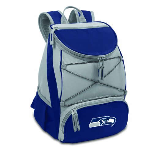 PTX Insulated Backpack Cooler, Navy (Seattle Seahawks Nfl Corkscrew)